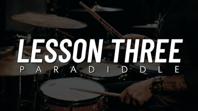Rudiment Survival Guide | Lesson 3
