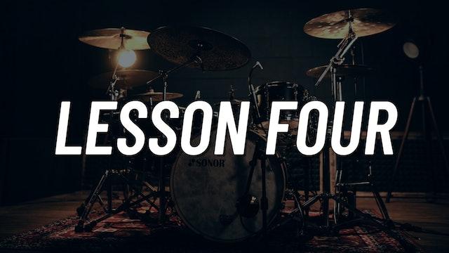 Drum Set Control Boot Camp | Lesson 4