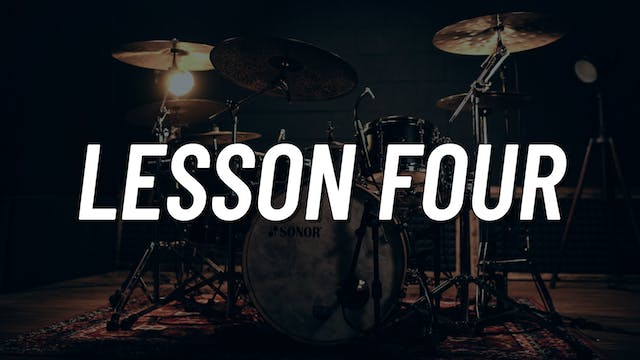 Drum Set Control Boot Camp | Lesson 4