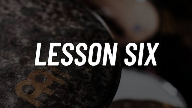 Paradiddle Voicing | Lesson 6