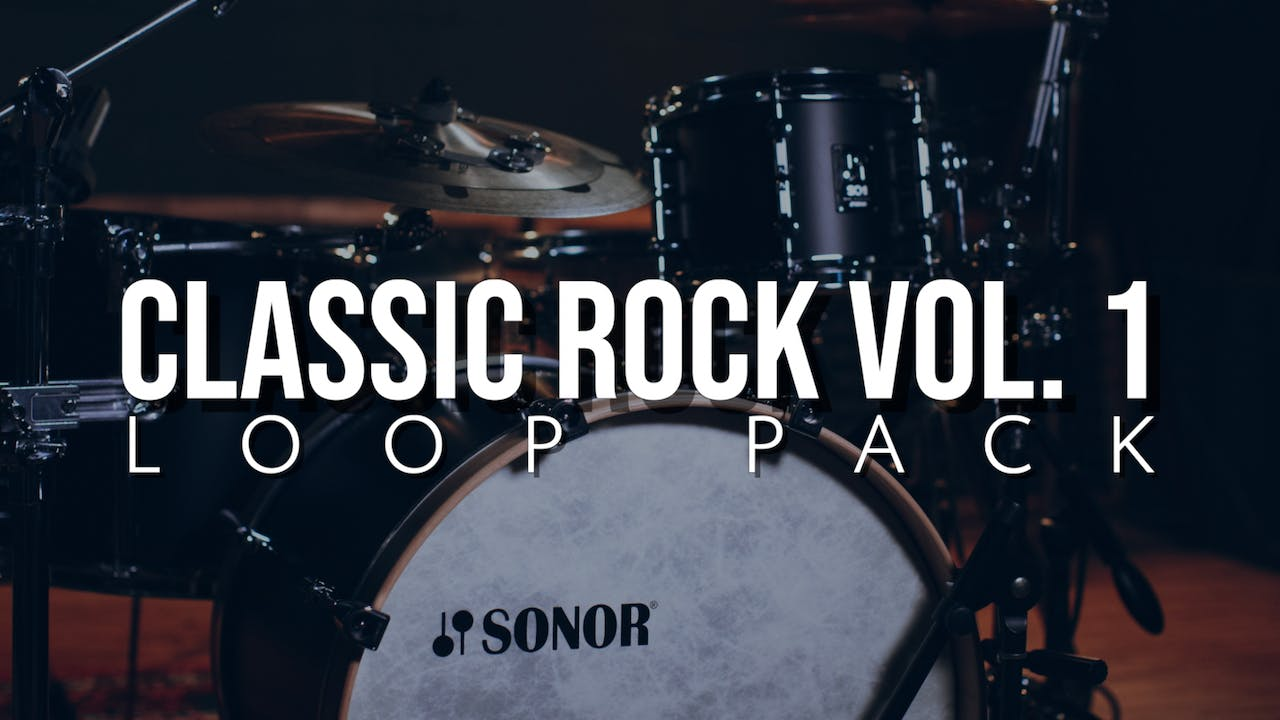Classic Rock Volume 1 Loop Pack