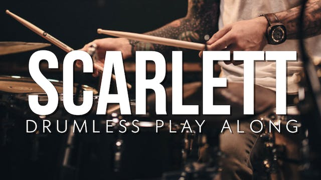 Scarlett Drumless Playalong