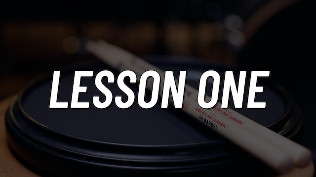 Practice Pad Boot Camp | Lesson 1
