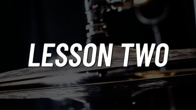 Advanced Gospel | Lesson 2