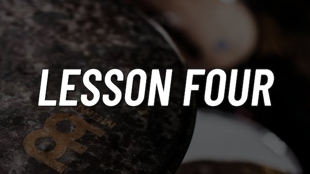 Paradiddle Voicing | Lesson 4