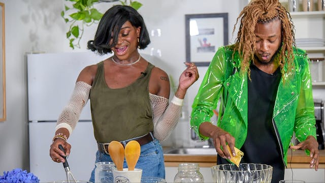 Two Queens in a Kitchen: Southern Style
