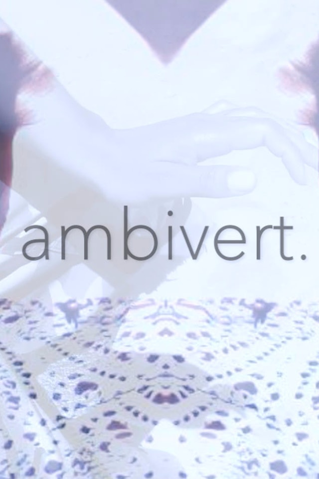 ambivert, with audio description