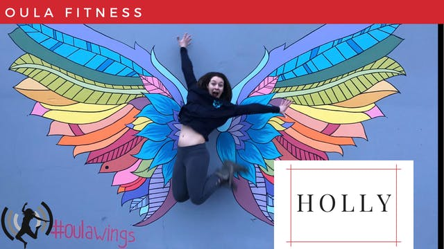 Holly@Home // 3.24.20 // OULA-Power Express