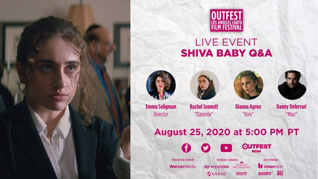 Shiva Baby: Live Conversation and Q&A