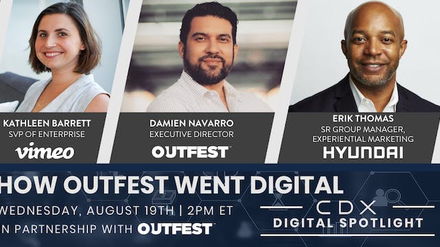 CDX Spotlight: How Outfest Went Digital