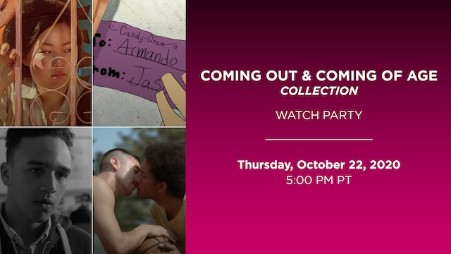 Watch Party: Coming Out & Coming of Age