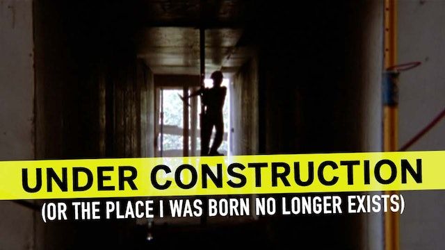 Under Construction (The Place I Was Born No Longer Exists)