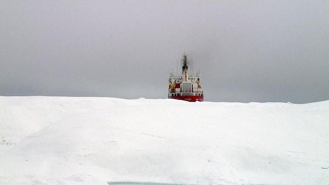 Strait Through The Ice