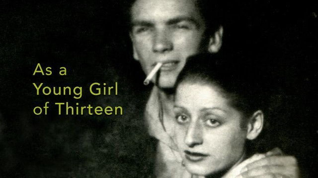 As a Young Girl of Thirteen...