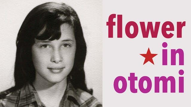 Flower in Otomi