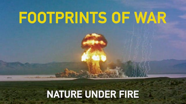 Footprints of War - Nature Under Fire