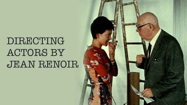 Directing Actors by Jean Renoir