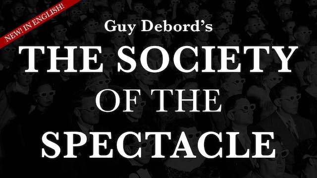 The Society of the Spectacle (Eng. Co...