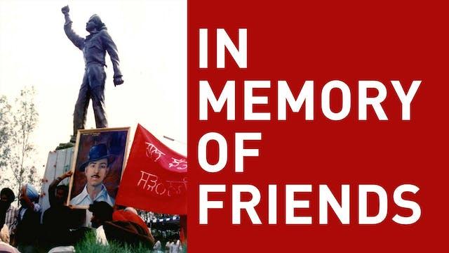 In Memory of Friends
