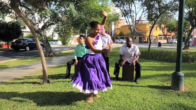 la Valentina-dance filmed in Peru