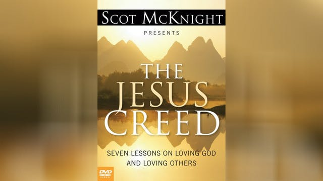 The Jesus Creed: The DVD