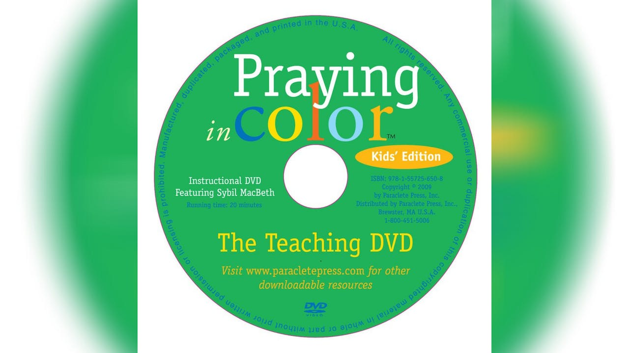 Praying in Color - Kid's Edition - DVD