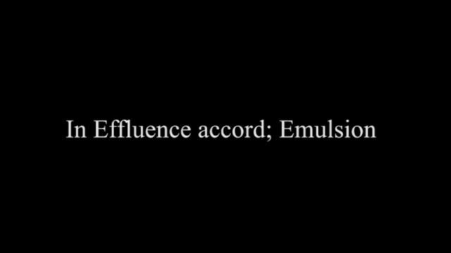 IN EFFLUENCE ACCORD; EMULSION