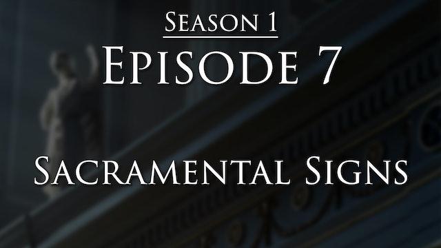 Sacramental Signs