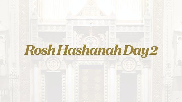 Rosh Hashanah Day 2 - Sep 8 - 8:30am