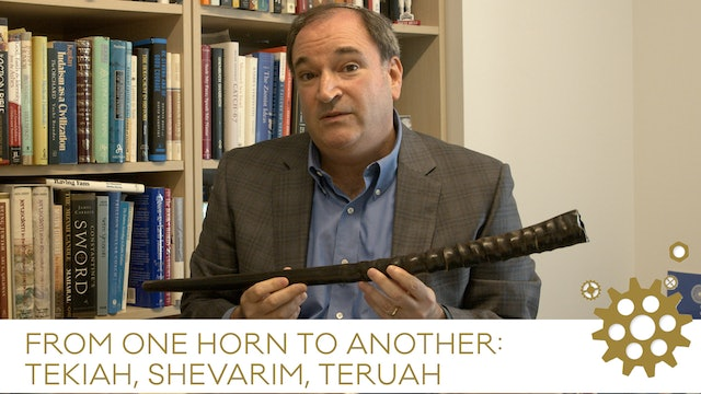 What are the notes of the shofar and what is it made from?