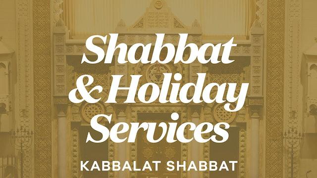 Kabbalat Shabbat (Oct 1, 2021 - 6:15 PM)