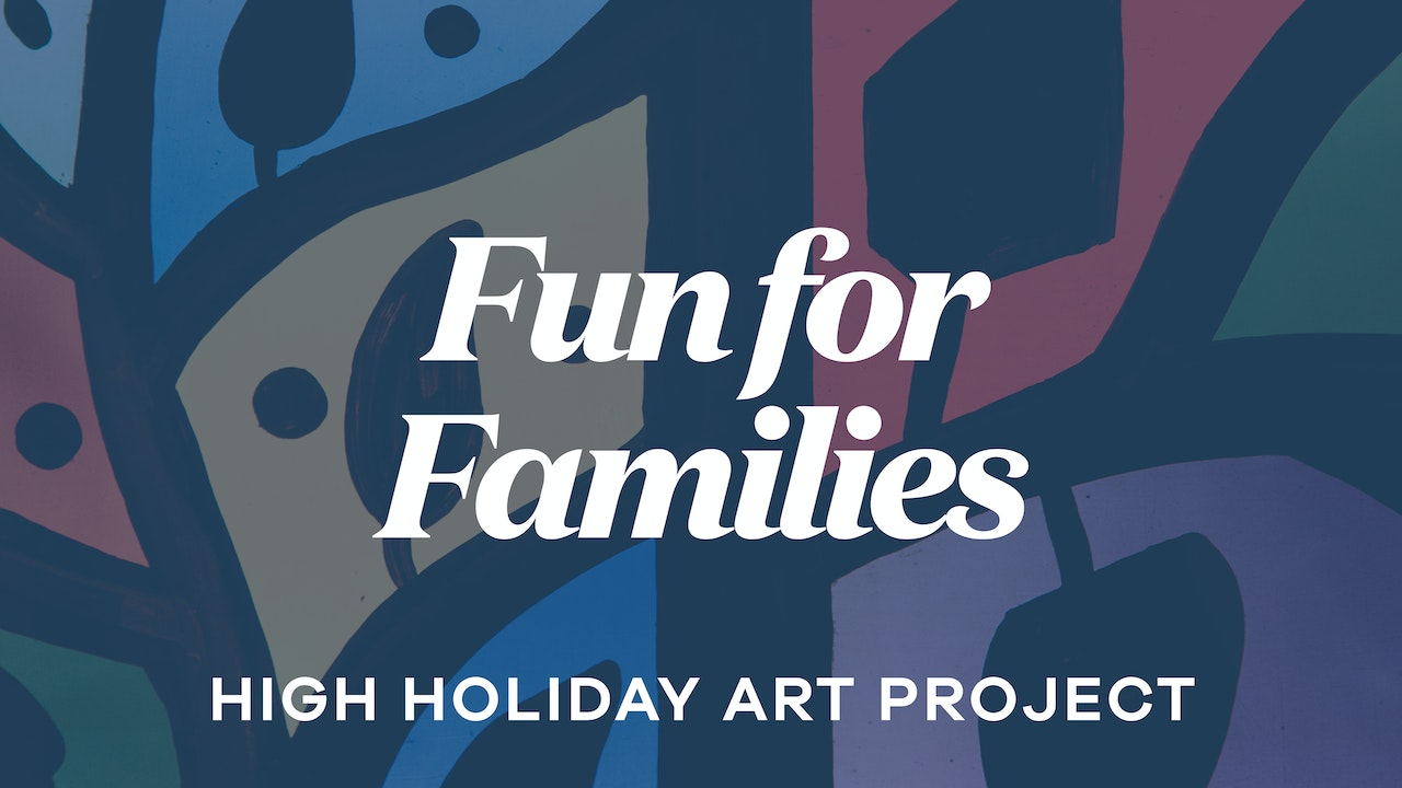 Get Crafty: High Holiday Art Project