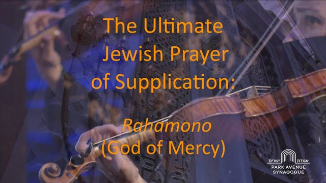 Rahamono (God of Mercy)