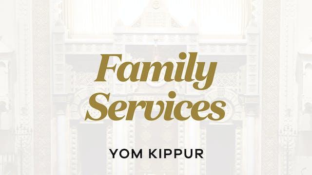 Yom Kippur - Sep 16 - 9:00am (Family)
