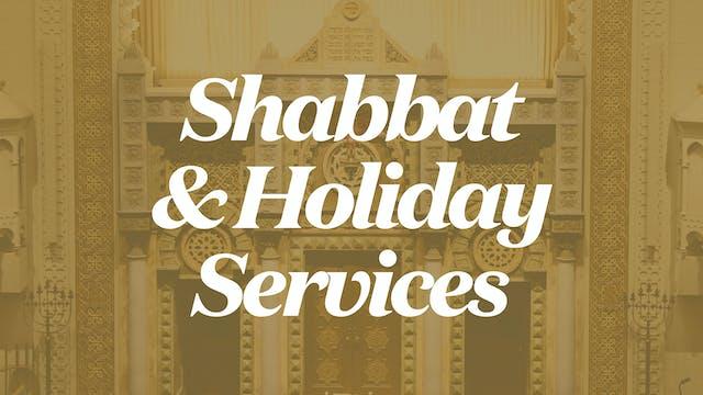 Sukkot Evening Service (Sep 21, 2021 ...