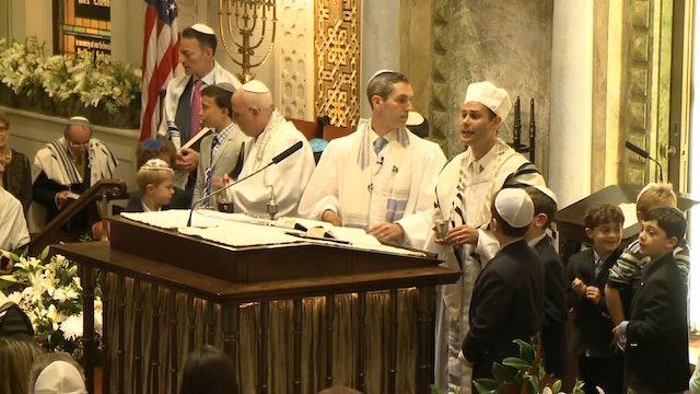 Yom Kippur (Finale) - Cantor Azi Schwartz at Park Avenue Synagogue, 2014