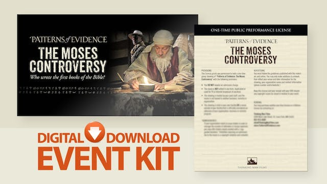 The Moses Controversy - Movie Event Kit