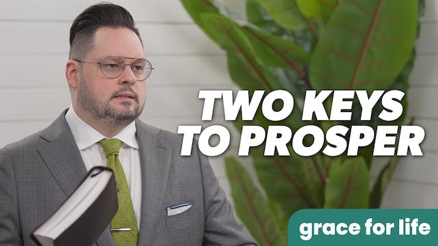 """""""Two Essential Components To Prosperi..."""