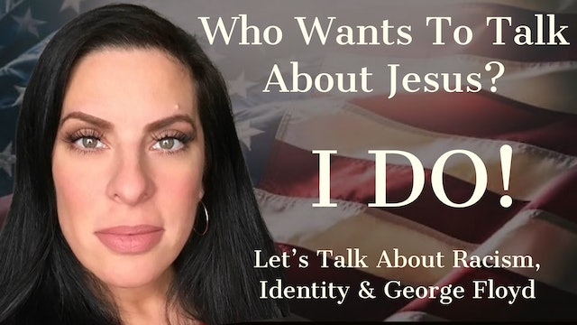 """Who Wants To Talk About Jesus?"" on Christine's Cornerstone"