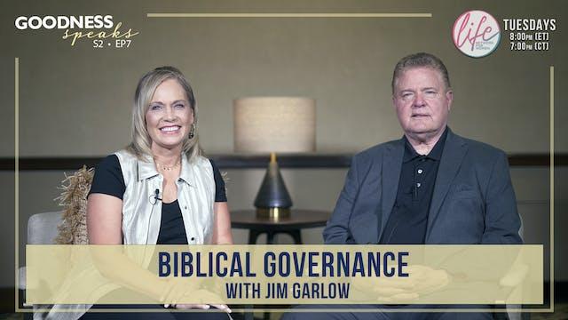 """Biblical Governance with Jim Garlow""..."