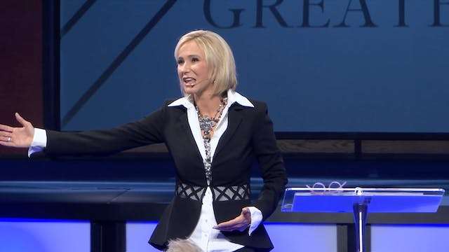 Paula White Cain at Unleashed Confere...