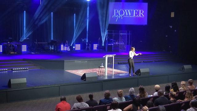 Pastor Pushie Watson at Power Night