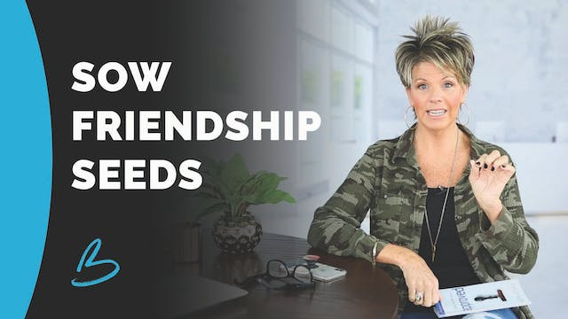 "Beth Jones ""Sow Friendship Seeds"""