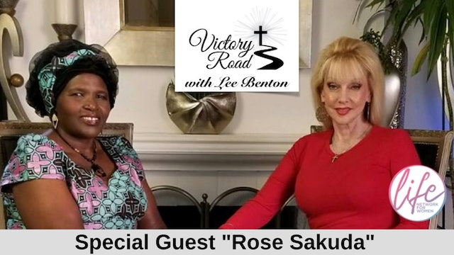 Victory Road with Lee Benton: Founder of Hope for Future Africa: Rose Sakuda