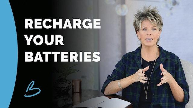 """Beth Jones """"Recharge Your Batteries"""""""