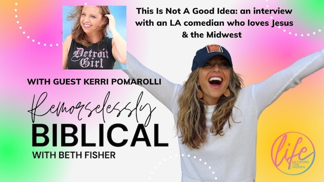 """""""This Is Not A Good Idea: Interview w/Kerri Pomarolli"""" on Remorselessly Biblical"""