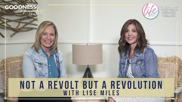 """Not a Revolt But a Revolution with L..."
