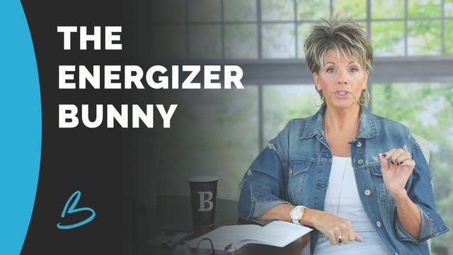"Beth Jones ""The Energizer Bunny"""