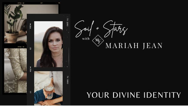 """Your Divine Identity"" on SOIL + STAR..."