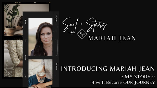 """Introducing Mariah Jean: My Story and How It Became Our Journey"" on SOIL+STARS"